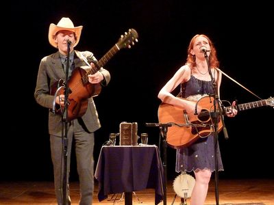 Gillian Welch- Kid Congo Powers 9-4-11 002
