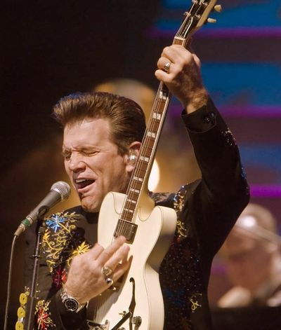Back to Rockville: Review: Chris Isaak