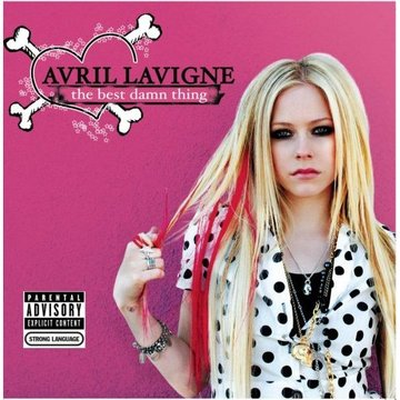 avril lavigne cd cover. Avril Lavigne and promised
