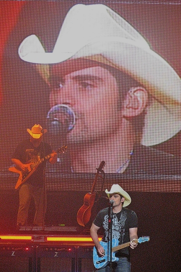 brad paisley and wife kimberly. Brad Paisley isn#39;t as
